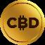 Biểu tượng logo của CBD Coin