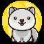 Biểu tượng logo của Baby Moon Wolf