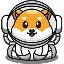 Biểu tượng logo của Spacebabyfloki