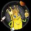 Biểu tượng logo của Bitcoin Banana