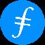 Biểu tượng logo của Filecoin