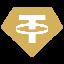 Biểu tượng logo của Tether Gold