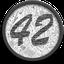 Biểu tượng logo của 42-coin