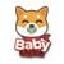 Biểu tượng logo của Baby Shiba