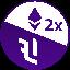Biểu tượng logo của ETH 2x Flexible Leverage Index